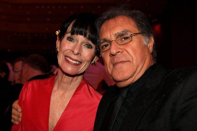 Джеральдина Чаплин и ее муж Патрисио Кастилья