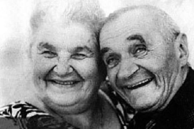 Георгий Милляр с женой