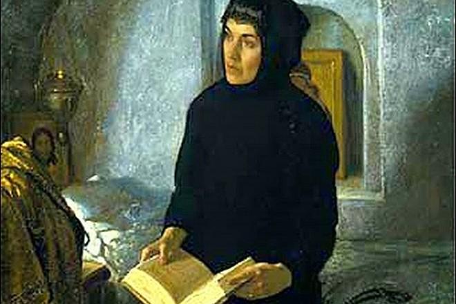 Мария Нагая в монастыре