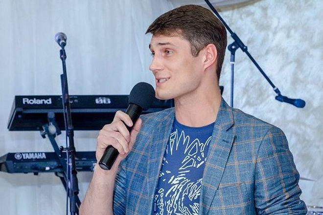 Ведущий Сергей Зеленский
