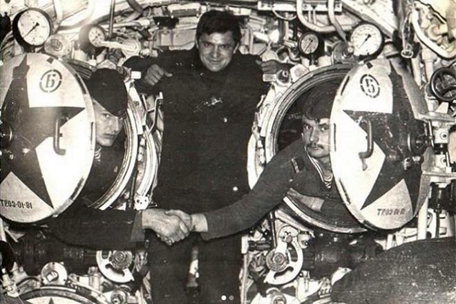 Моряк-подводник Андрей Тарасенко