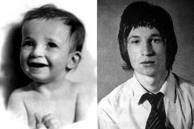 Семен Альтов в детстве и молодости