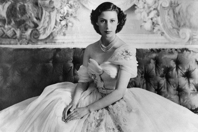 Принцесса Маргарет в молодости