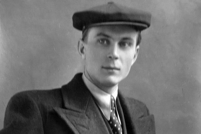Евгений Матвеев в молодости