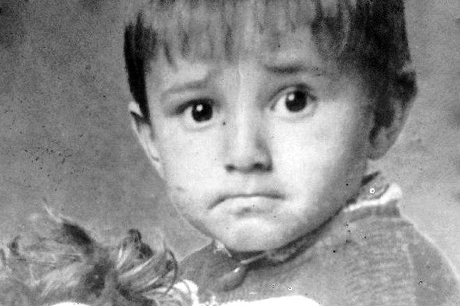 Адлер Коцба в детстве