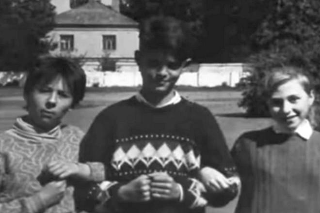 Михаил Толстых в детстве
