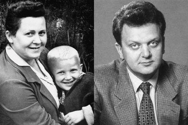 Виктор Христенко в детстве и молодости