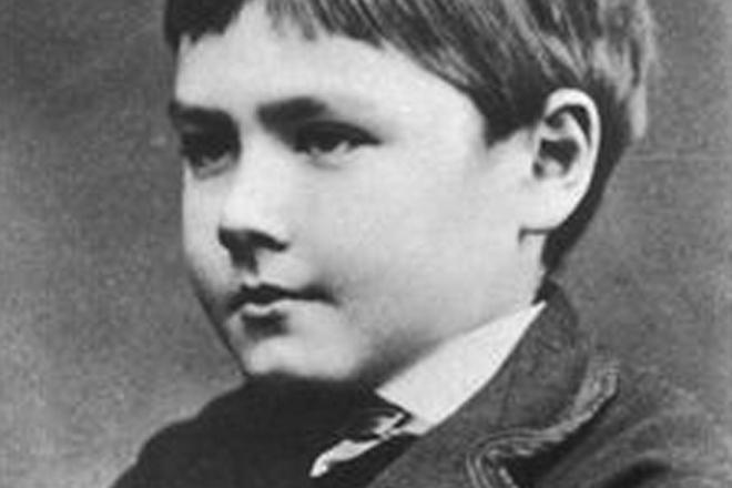 Редьярд Киплинг в детстве
