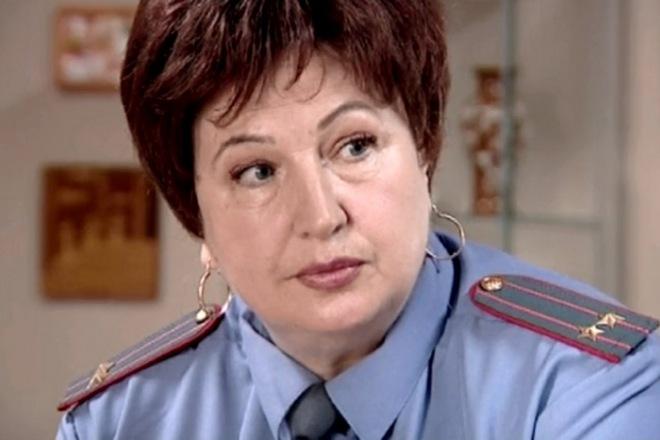 Галина Коньшина в сериале «Глухарь»