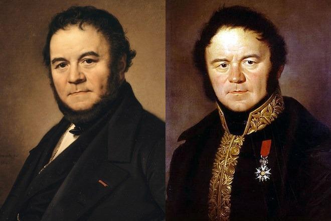 Портреты Стендаля