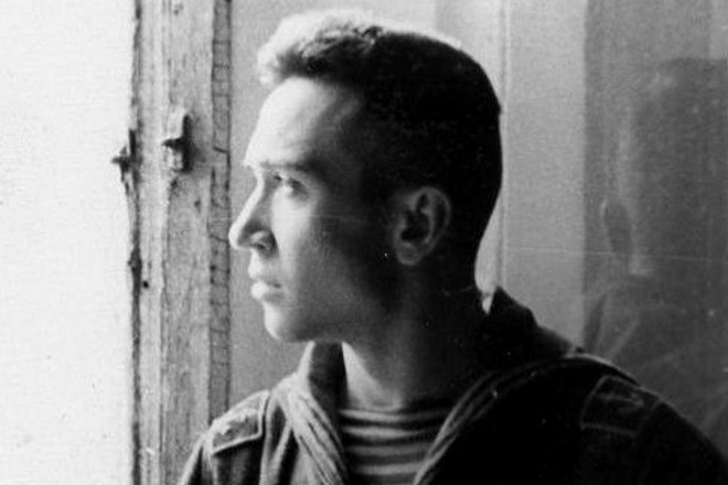 Валентин Пикуль в молодости