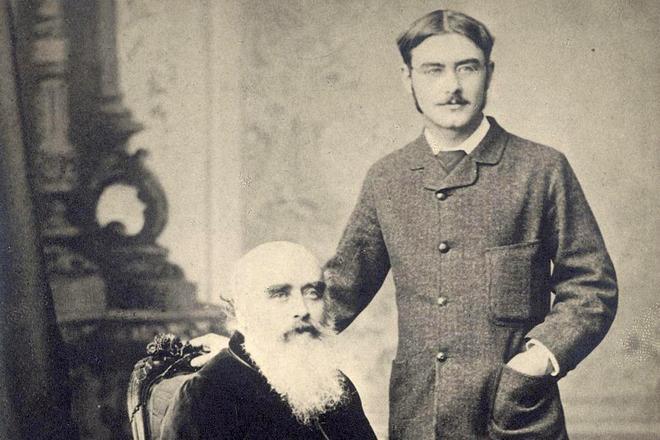 Редьярд Киплинг и его отец