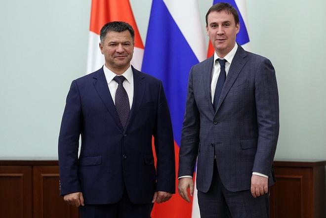 Андрей Тарасенко и Дмитрий Патрушев