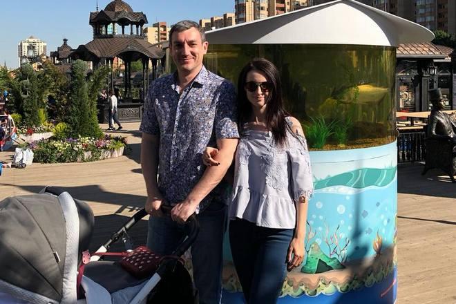 Василий Орлов и его жена