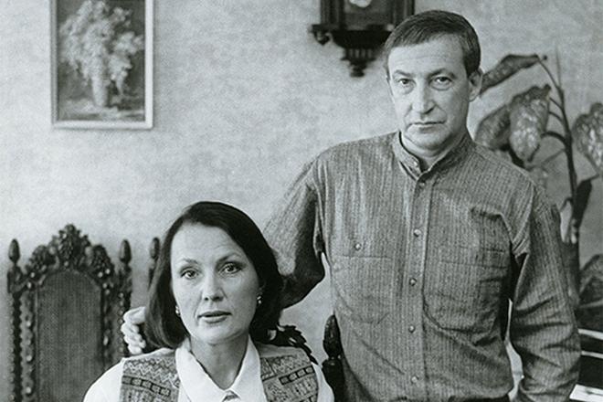 Семен Альтов и его жена Лариса