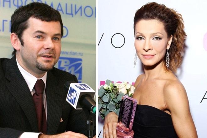 Александр Пляцев и Елена Подкаминская