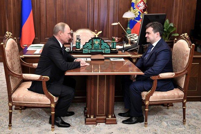 Владимир Путин и Станислав Воскресенский