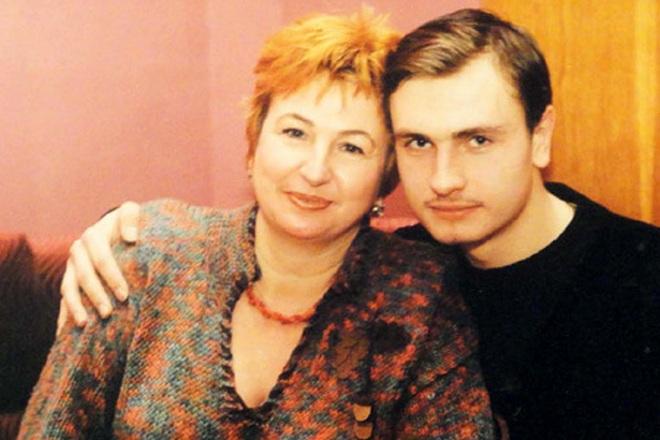 Галина Коньшина с сыном Антоном