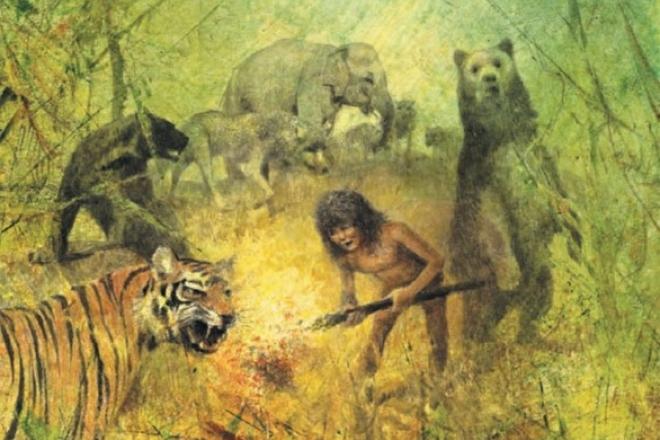 Иллюстрации к повести Редьярда Киплинга «Книга джунглей»