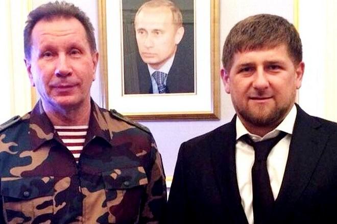 Виктор Золотов и Рамзан Кадыров