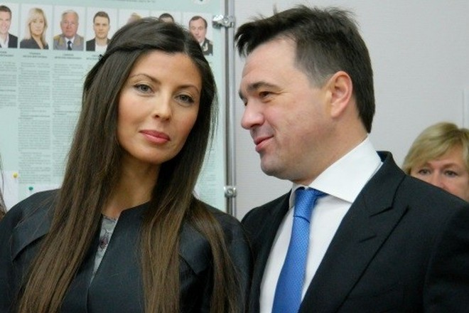 Андрей Воробьев и его жена Екатерина Багдасарова