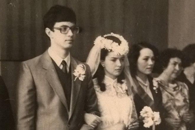 Роман Злотников и его жена