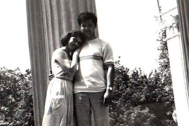 Андрей Тарасенко и его жена Светлана в молодости