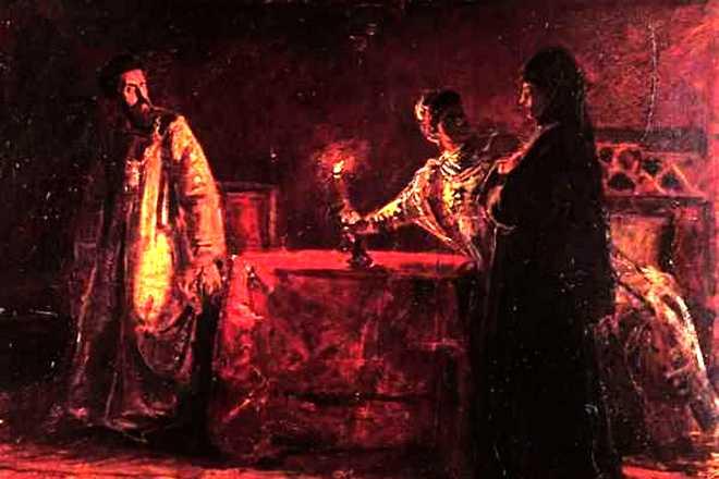 Царь Борис Годунов, Мария Годунова и Мария Нагая