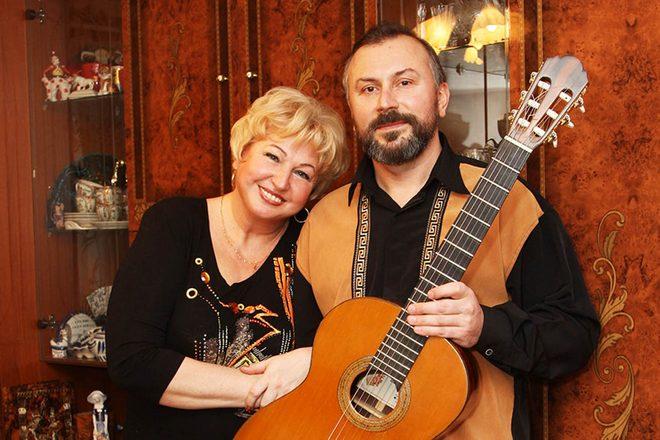 Галина Коньшина и ее муж Александр Шумидуб