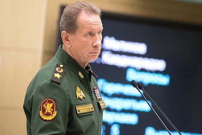 Виктор Золотов в 2018 году