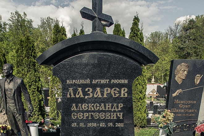 Могила Александра Лазарева