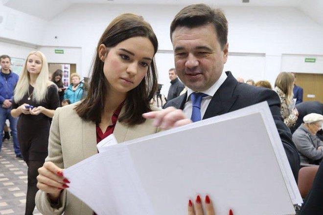 Андрей Воробьев и его дочь Екатерина