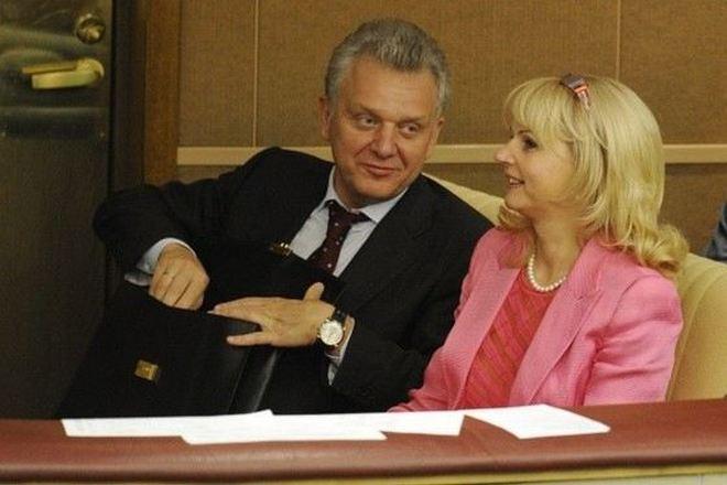 Виктор Христенко и его жена Татьяна Голикова