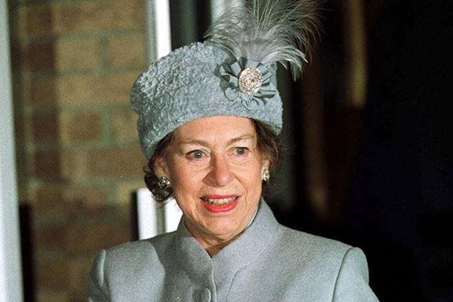 Принцесса Маргарет в старости
