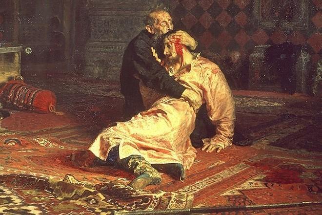 Иван Грозный убивает своего сына Ивана