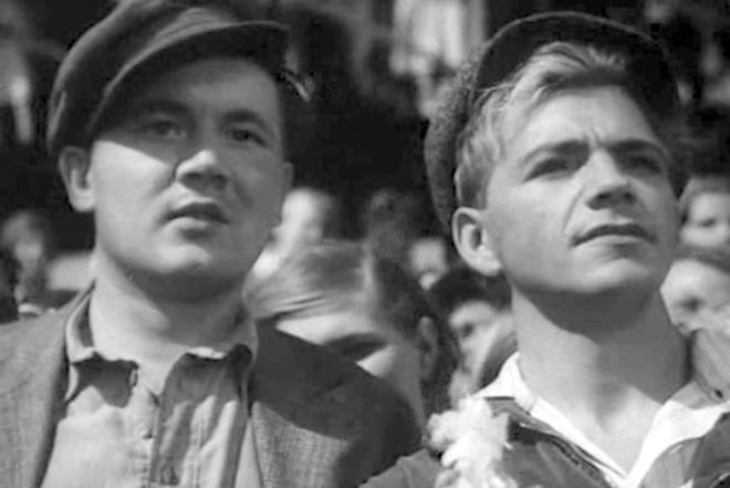 Борис Андреев и Петр Алейников