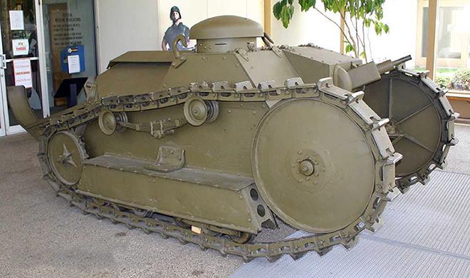 Танк Генри Форда Ford-M1918