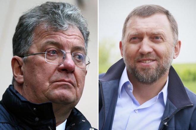 Сергей Приходько и Олег Дерипаска