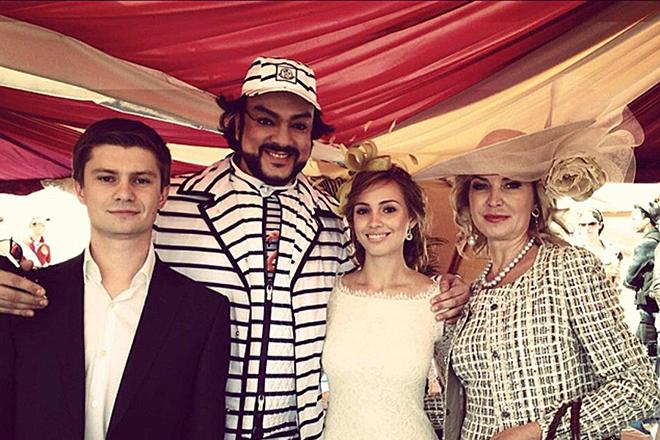 Фото со свадьбы сына Леонида Федуна