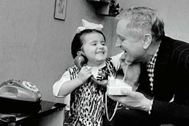 Николай Гриценко с дочерью Катей
