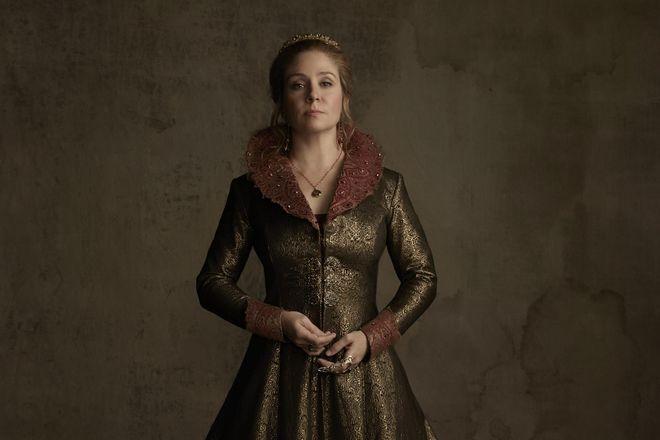 Меган Фоллоуз в роли Екатерины Медичи в сериале «Царство»