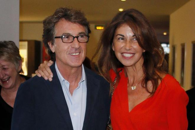Франсуа Клюзе и его жена Нарцисс Фалькоз