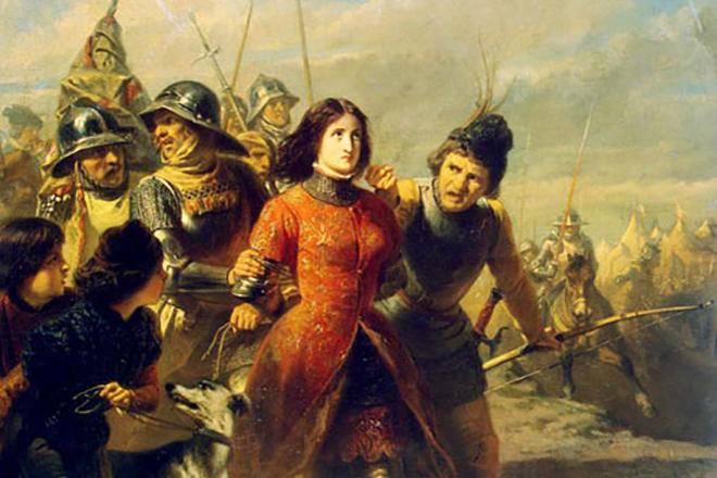 Пленение Жанны Д'арк