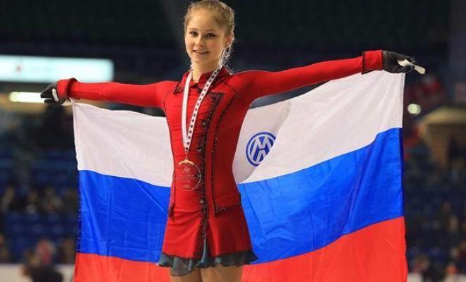 Юлия Липницкая на Гран-при в Канаде