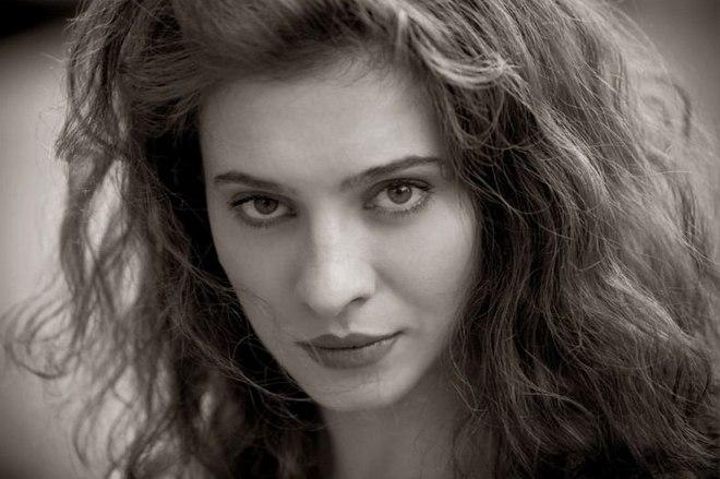 Елена Подкаминская в молодости