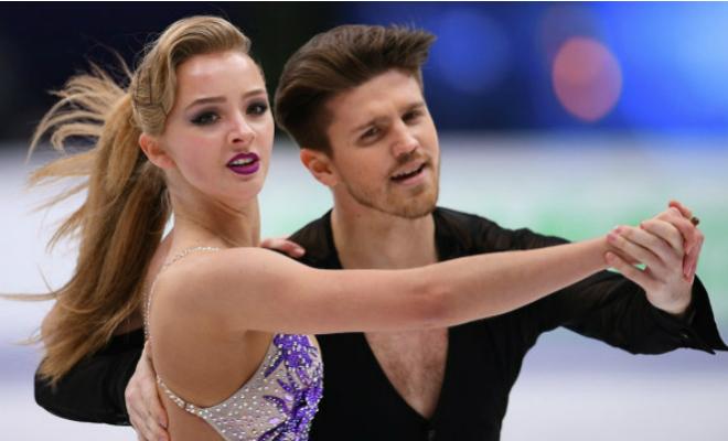Александра Степанова на льду