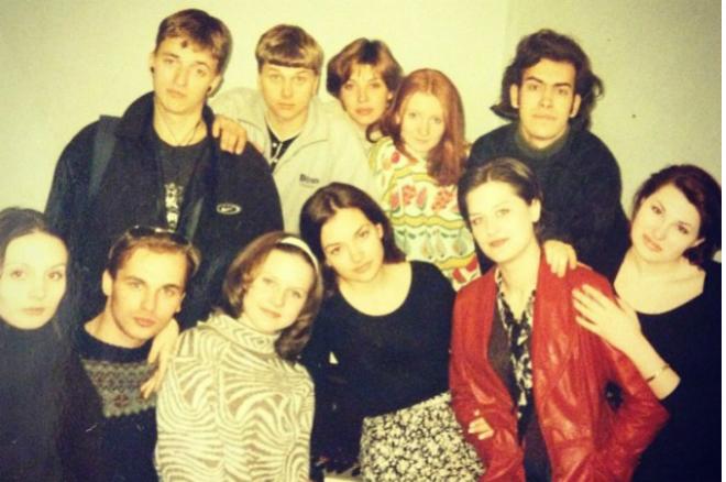 Ольга Павловец в студенческие годы
