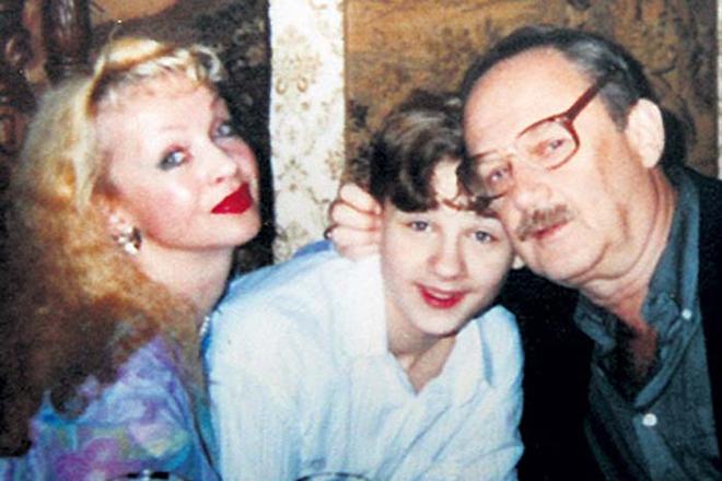 Наталья Седых с семьей
