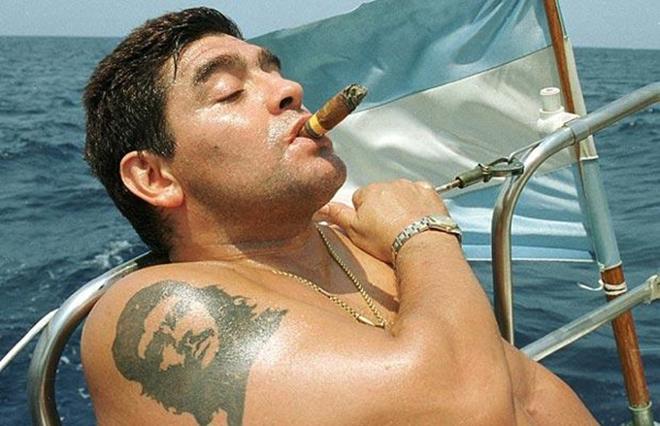 Татуировки Марадоны