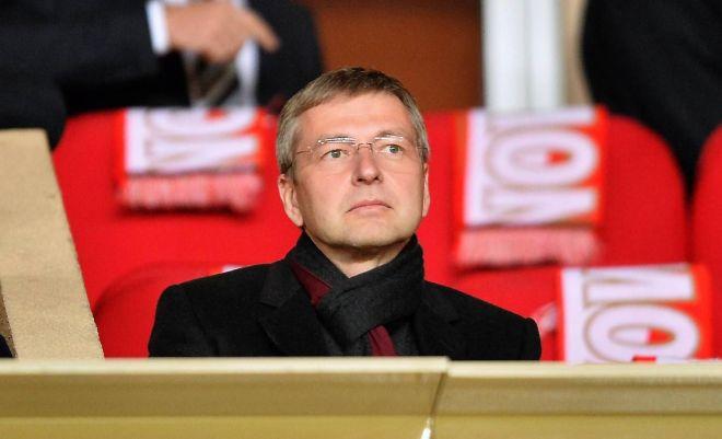 Дмитрий Рыболовлев на матче ФК «Монако»